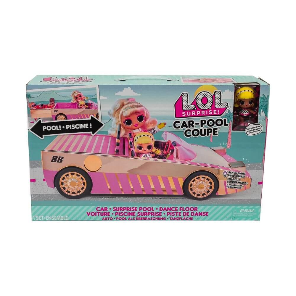 Кукла LOL Surprise Car-Pool Coupe with Exclusive Doll (Автомобиль с бассейном и кукла ЛОЛ)